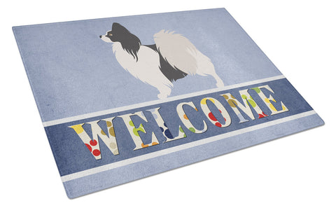 Buy this Papillon Welcome Glass Cutting Board Large BB8322LCB