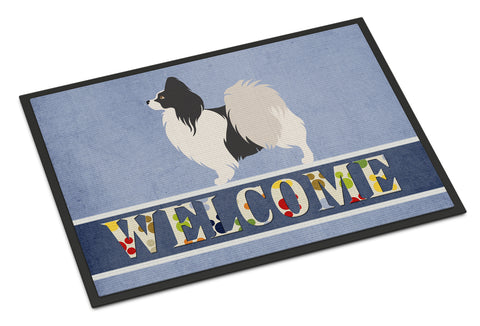 Buy this Papillon Welcome Indoor or Outdoor Mat 18x27 BB8322MAT