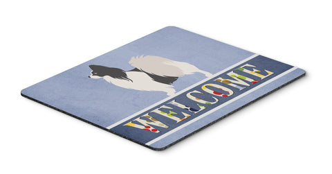 Buy this Papillon Welcome Mouse Pad, Hot Pad or Trivet BB8322MP