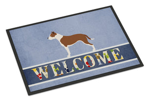 Buy this Pit Bull Terrier Welcome Indoor or Outdoor Mat 24x36 BB8325JMAT
