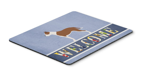 Buy this Pit Bull Terrier Welcome Mouse Pad, Hot Pad or Trivet BB8325MP