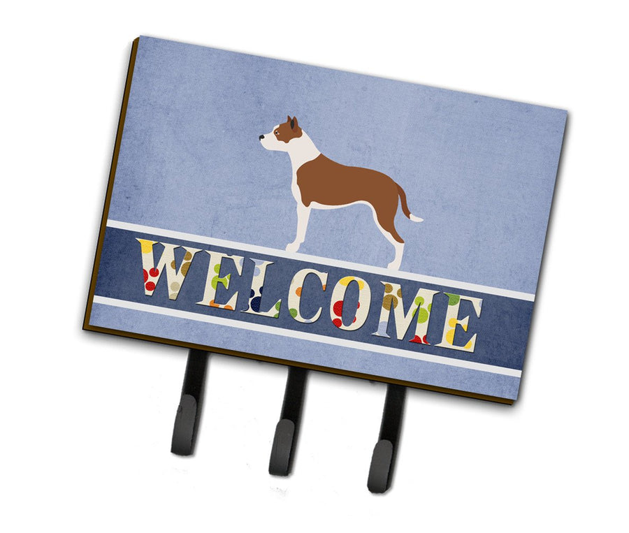 Buy this Pit Bull Terrier Welcome Leash or Key Holder BB8325TH68