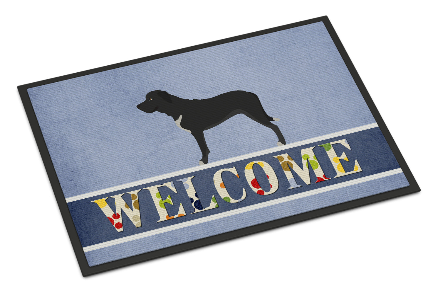 Broholmer Danish Mastiff Indoor or Outdoor Mat 18x27 BB8328MAT by Caroline's Treasures