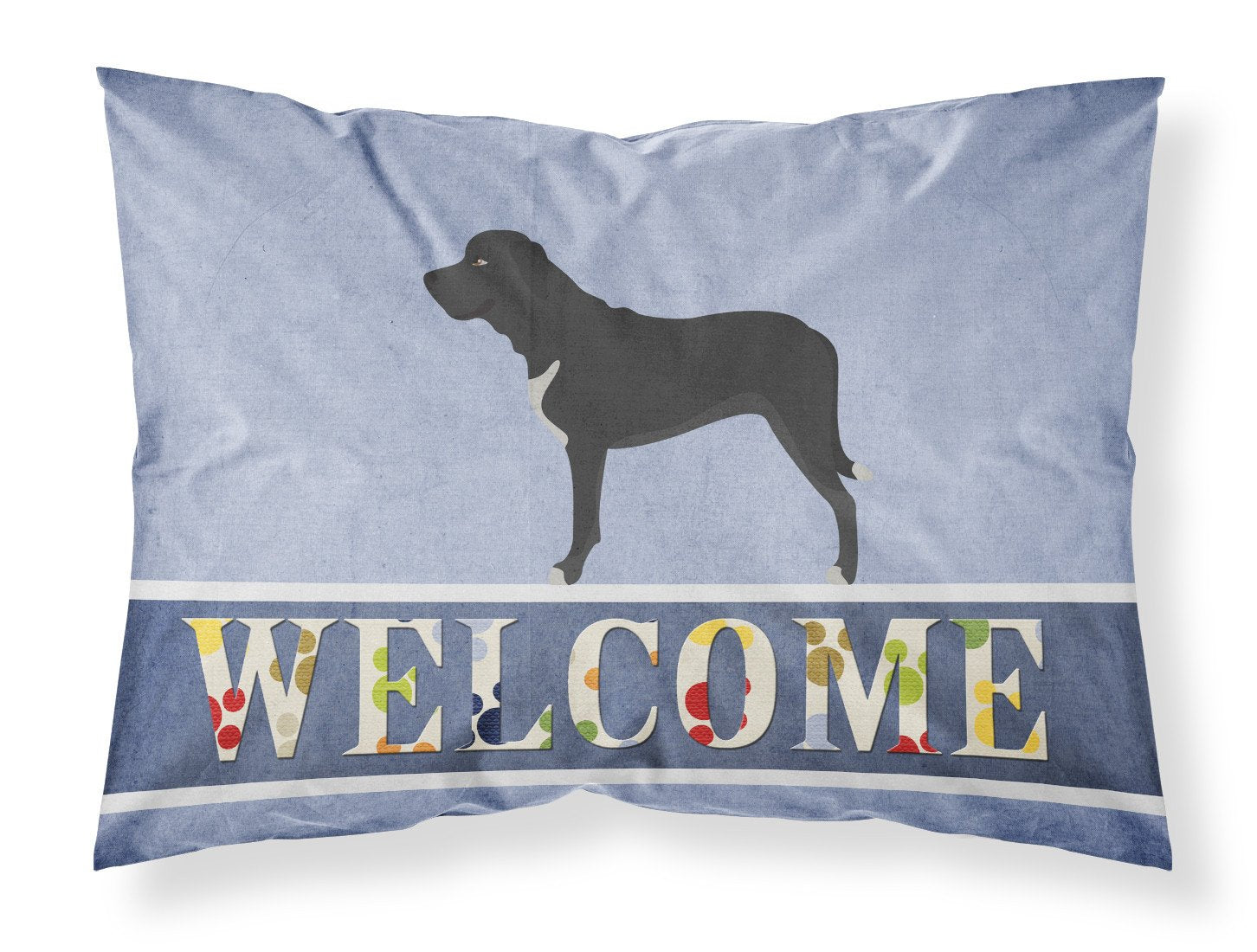 Broholmer Danish Mastiff Fabric Standard Pillowcase BB8328PILLOWCASE by Caroline's Treasures
