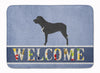 Broholmer Danish Mastiff Machine Washable Memory Foam Mat BB8328RUG by Caroline's Treasures