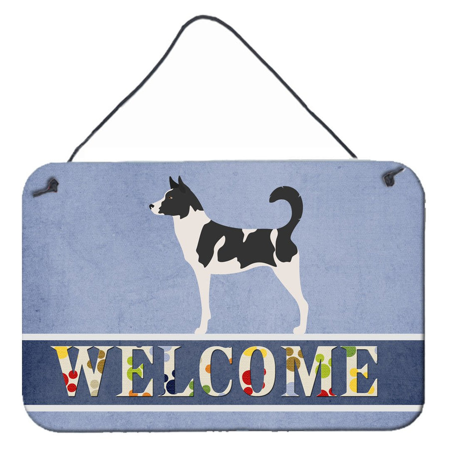 Buy this Canaan Dog Welcome Wall or Door Hanging Prints BB8329DS812