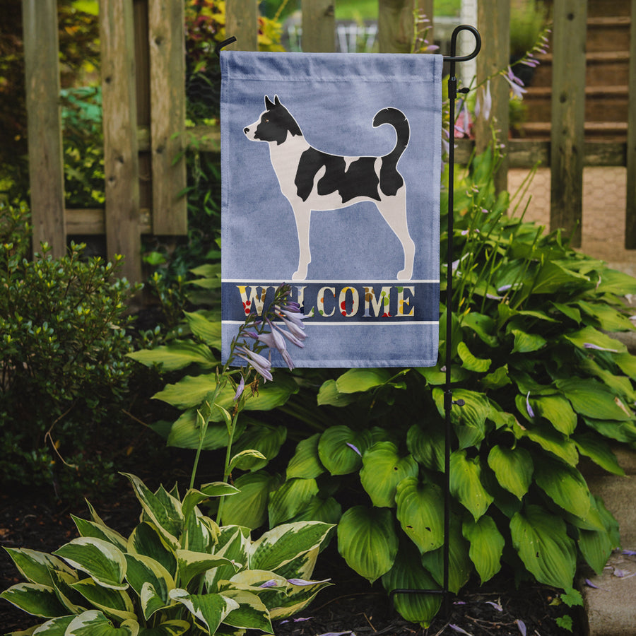 Buy this Canaan Dog Welcome Flag Garden Size BB8329GF