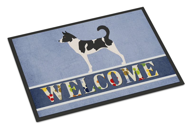 Buy this Canaan Dog Welcome Indoor or Outdoor Mat 18x27 BB8329MAT