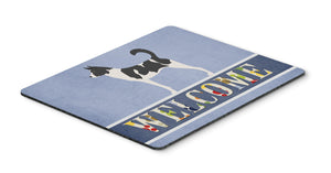 Buy this Canaan Dog Welcome Mouse Pad, Hot Pad or Trivet BB8329MP