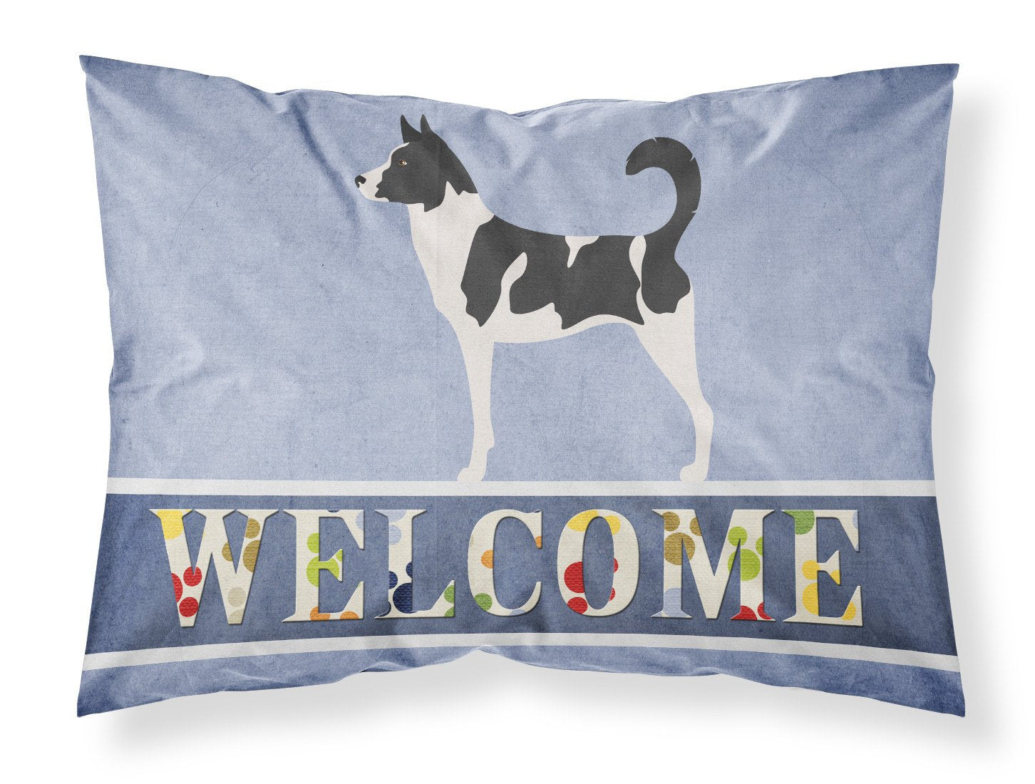 Canaan Dog Welcome Fabric Standard Pillowcase BB8329PILLOWCASE by Caroline's Treasures