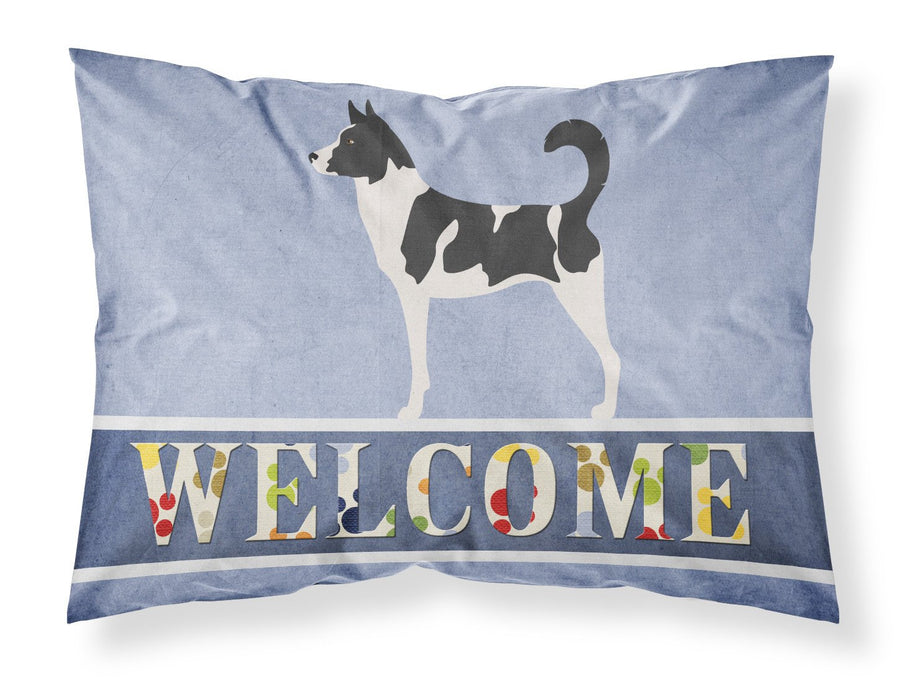 Buy this Canaan Dog Welcome Fabric Standard Pillowcase BB8329PILLOWCASE
