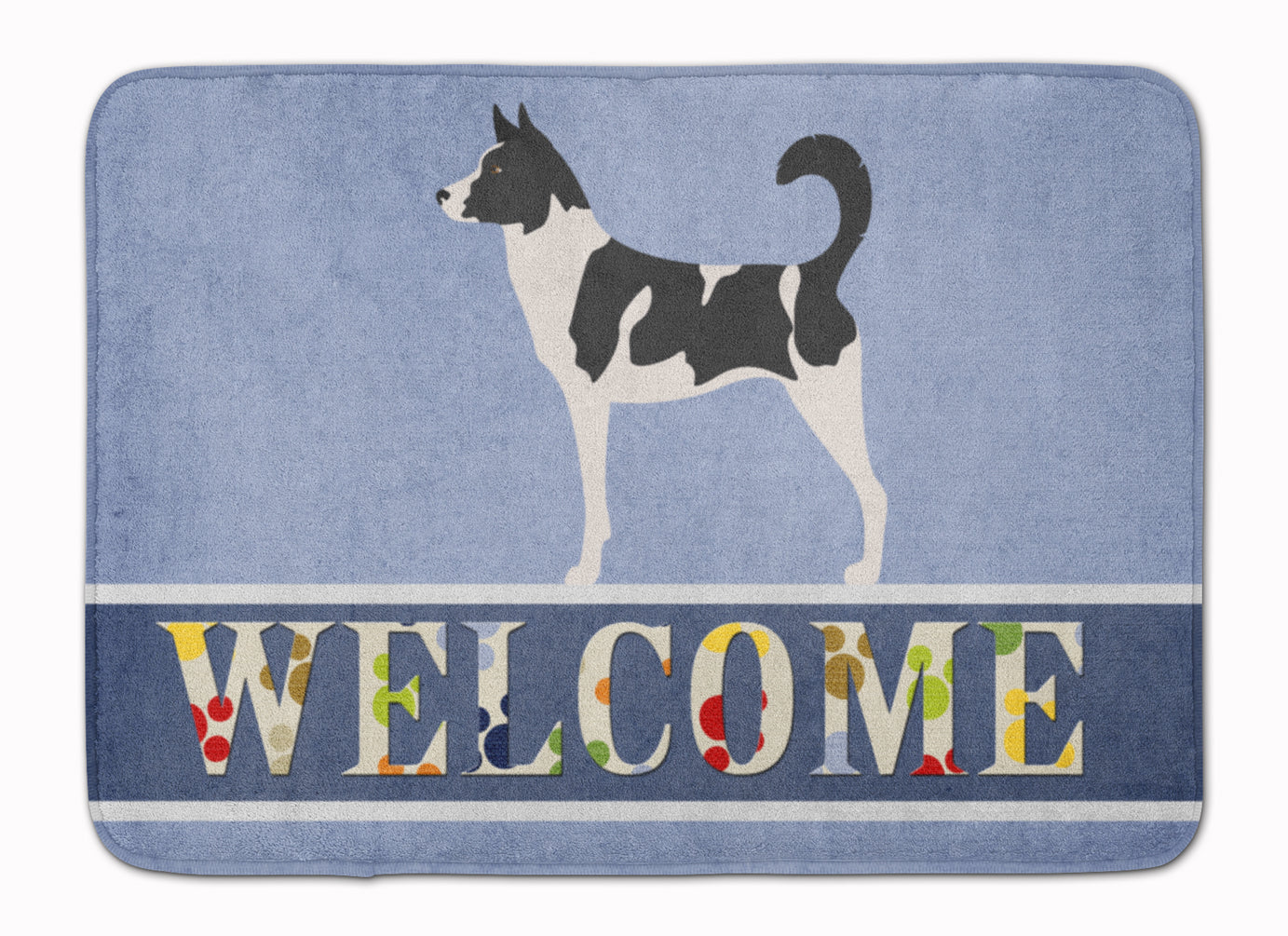 Canaan Dog Welcome Machine Washable Memory Foam Mat BB8329RUG by Caroline's Treasures