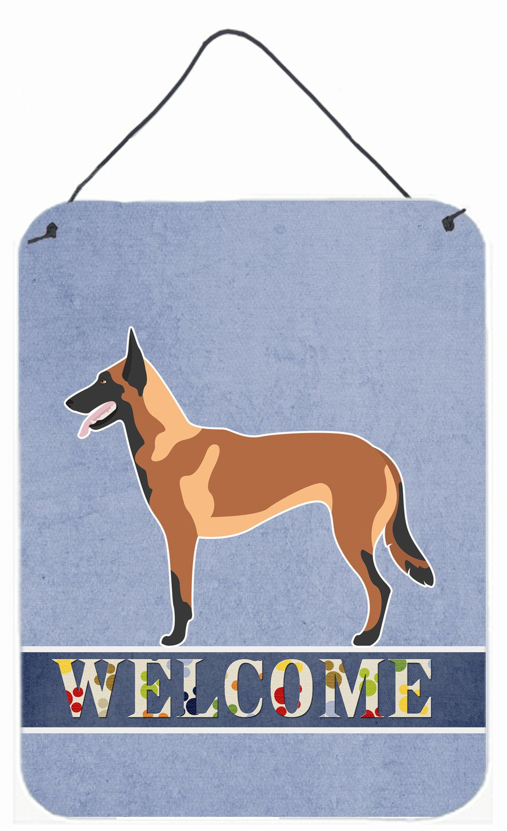 Malinois Belgian Shepherd  Wall or Door Hanging Prints BB8332DS1216 by Caroline's Treasures