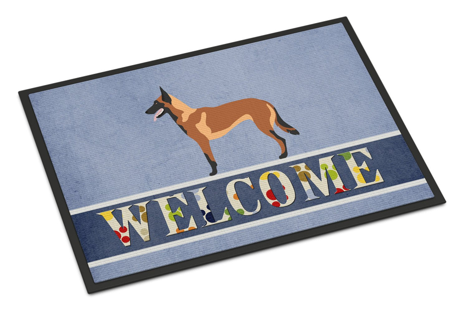 Malinois Belgian Shepherd  Indoor or Outdoor Mat 24x36 BB8332JMAT by Caroline's Treasures