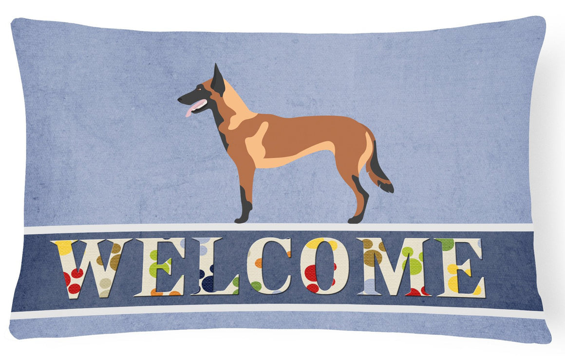 Buy this Malinois Belgian Shepherd  Canvas Fabric Decorative Pillow BB8332PW1216