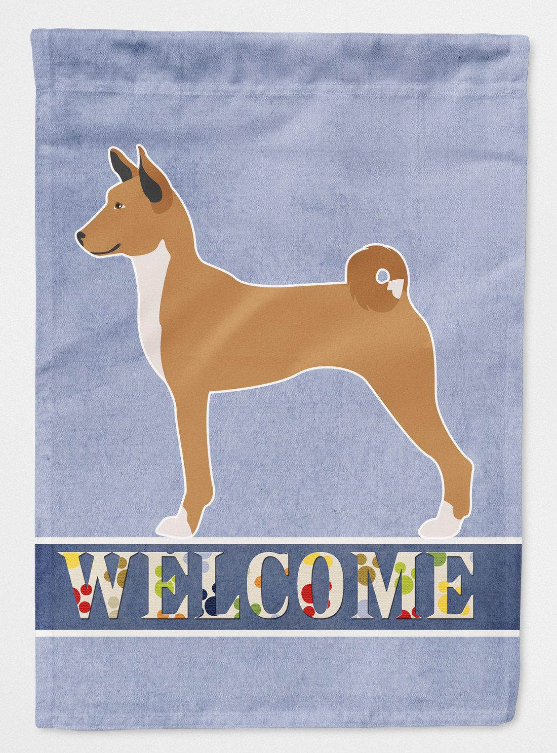 Telomian Welcome Flag Garden Size BB8333GF by Caroline's Treasures