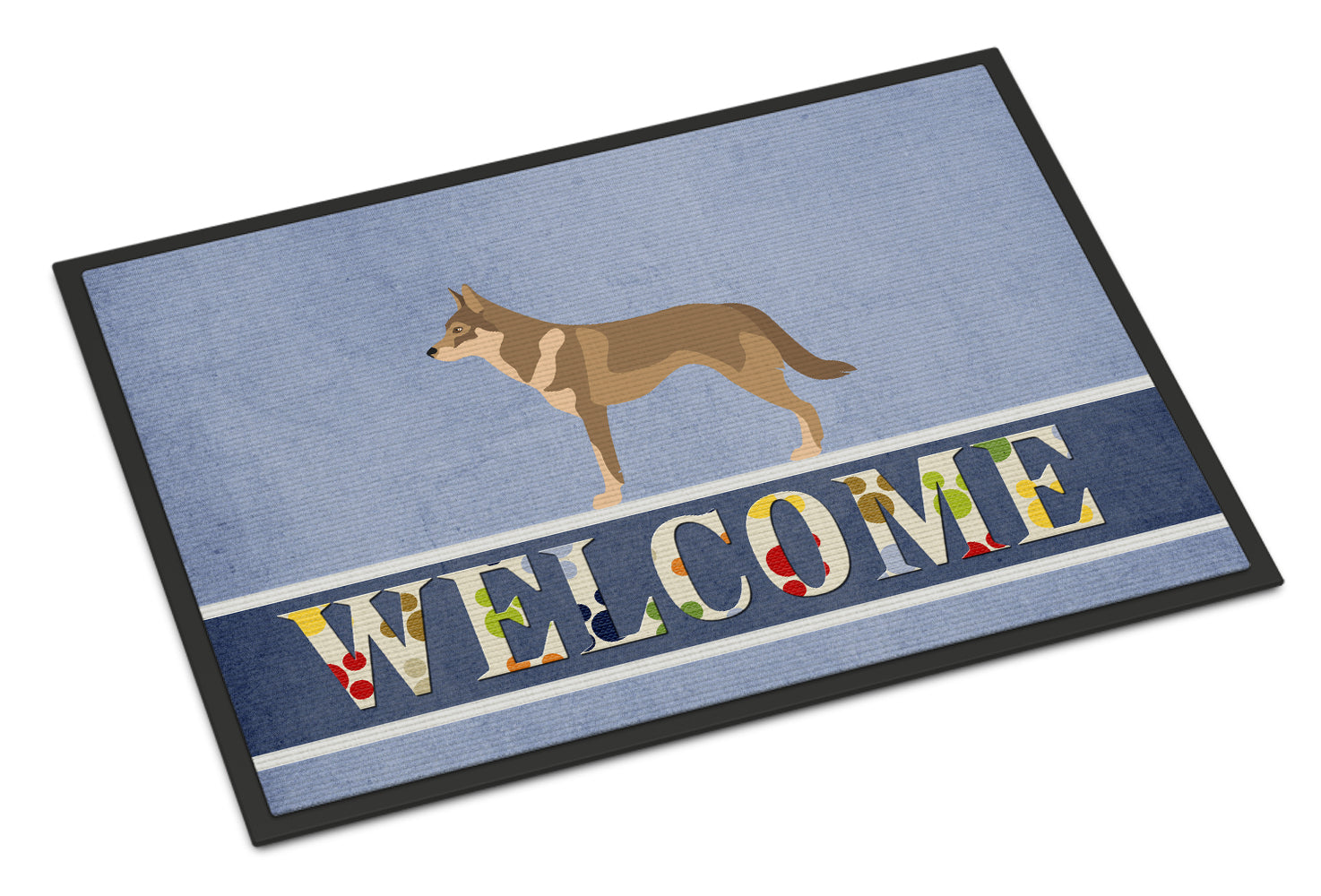 Czechoslovakian Wolfdog Indoor or Outdoor Mat 18x27 BB8335MAT by Caroline's Treasures