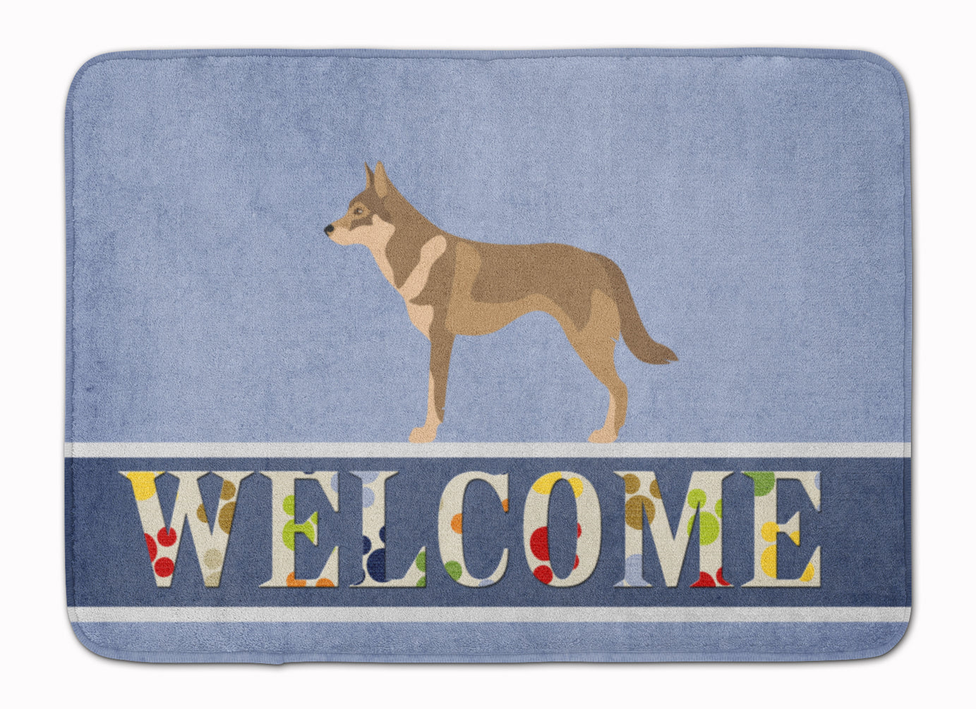 Czechoslovakian Wolfdog Machine Washable Memory Foam Mat BB8335RUG by Caroline's Treasures