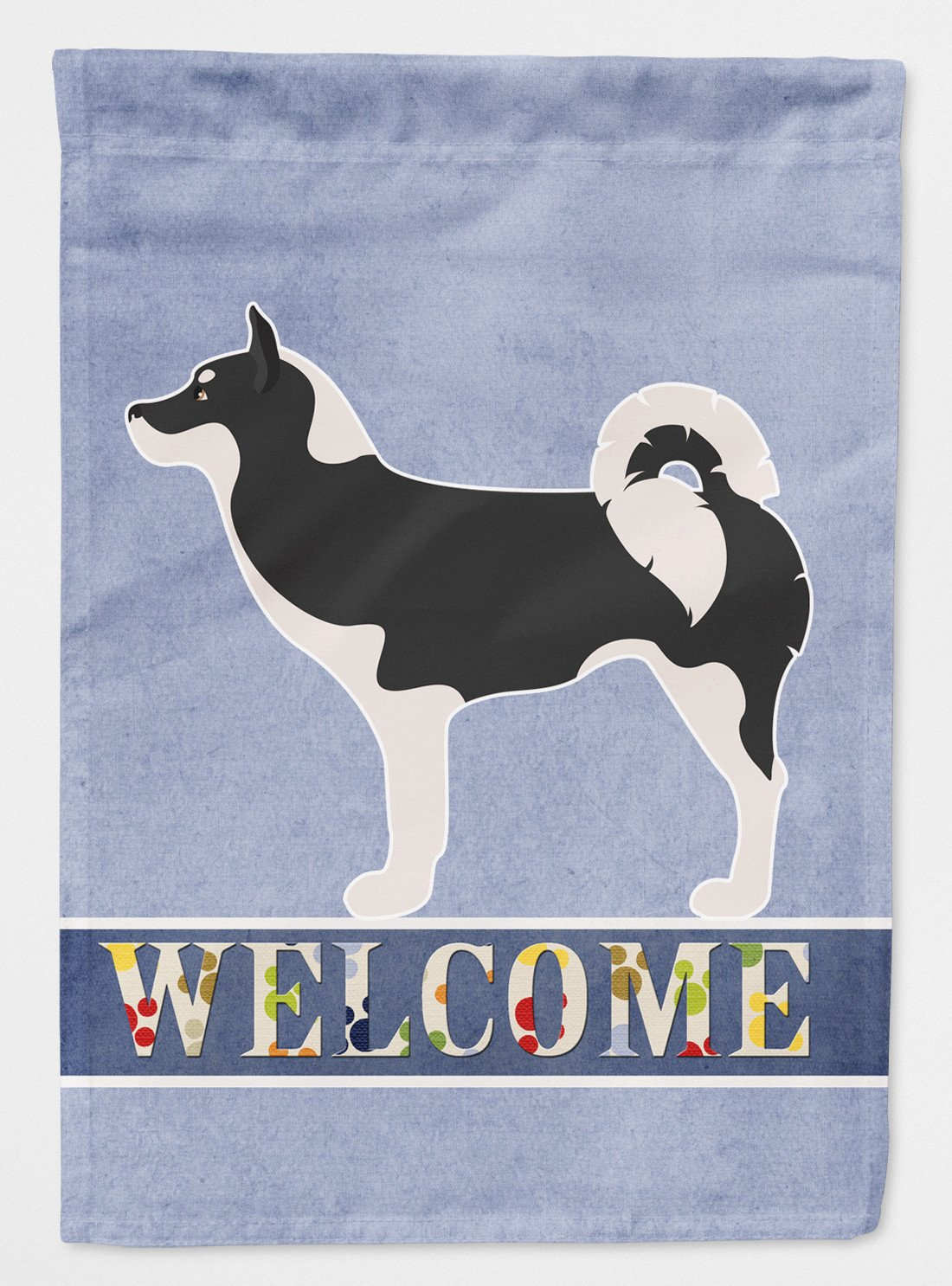 Greenland Dog Welcome Flag Garden Size BB8338GF by Caroline's Treasures