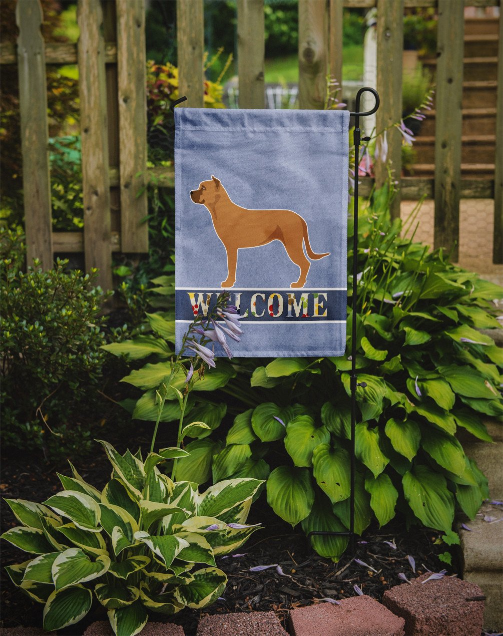 Alano Espanol Spanish Bulldog Flag Garden Size BB8344GF by Caroline's Treasures