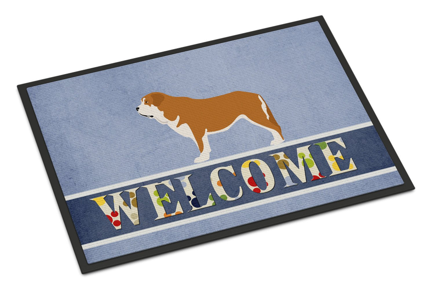 Mastin Epanol Spanish Mastiff Indoor or Outdoor Mat 24x36 BB8349JMAT by Caroline's Treasures