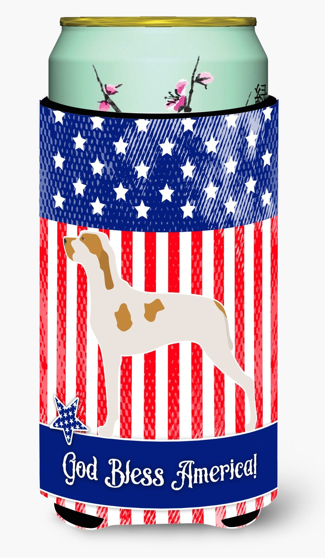 Ariege Pointer American Tall Boy Beverage Insulator Hugger BB8353TBC by Caroline's Treasures