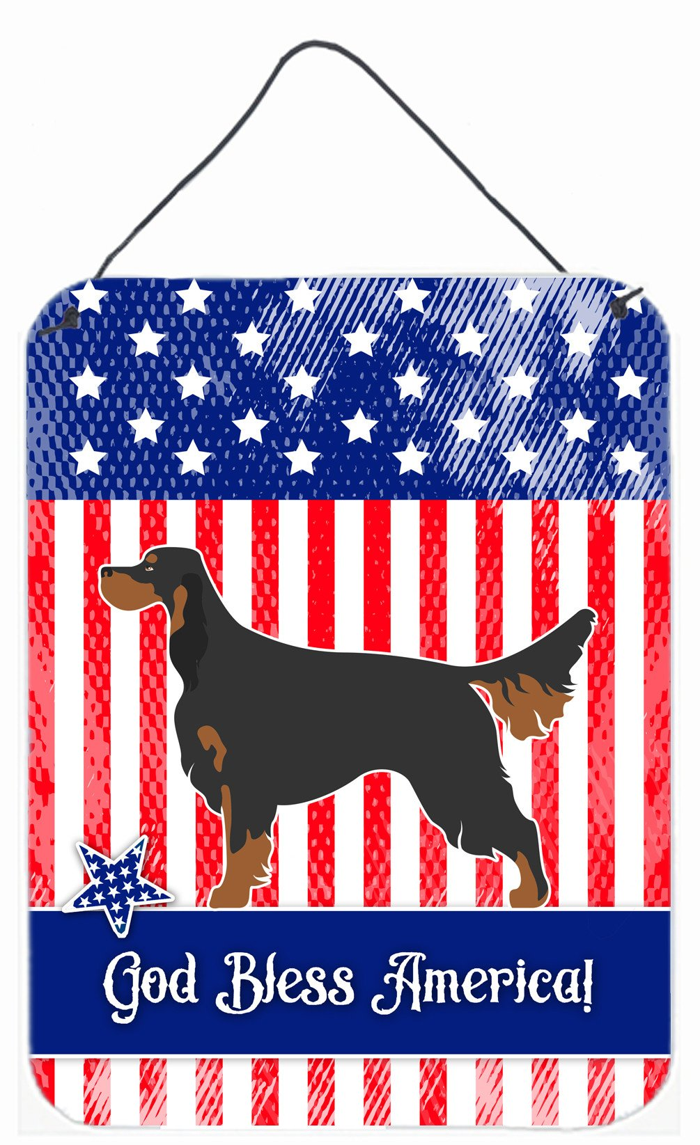 Buy this Gordon Setter American Wall or Door Hanging Prints BB8355DS1216