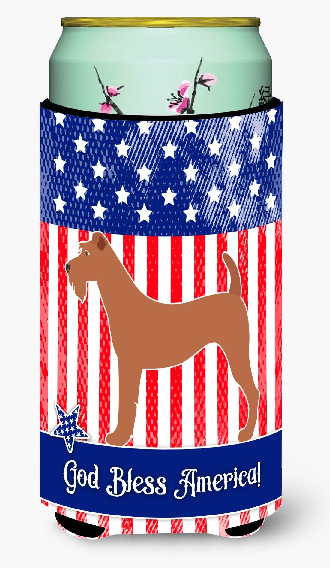 Irish Terrier American Tall Boy Beverage Insulator Hugger BB8357TBC by Caroline's Treasures