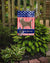 Cairn Terrier American Flag Garden Size BB8367GF by Caroline's Treasures
