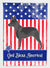 Australian Cattle Dog American Flag Garden Size BB8370GF by Caroline's Treasures