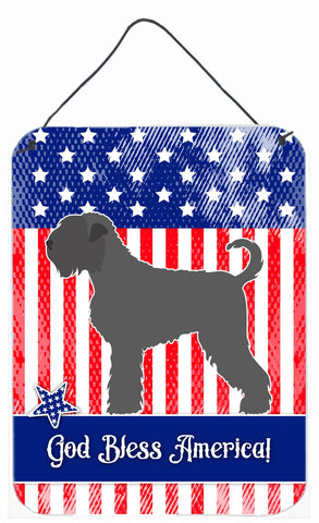 Buy this Black Russian Terrier American Wall or Door Hanging Prints BB8374DS1216