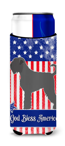 Buy this Black Russian Terrier American Michelob Ultra Hugger for slim cans BB8374MUK