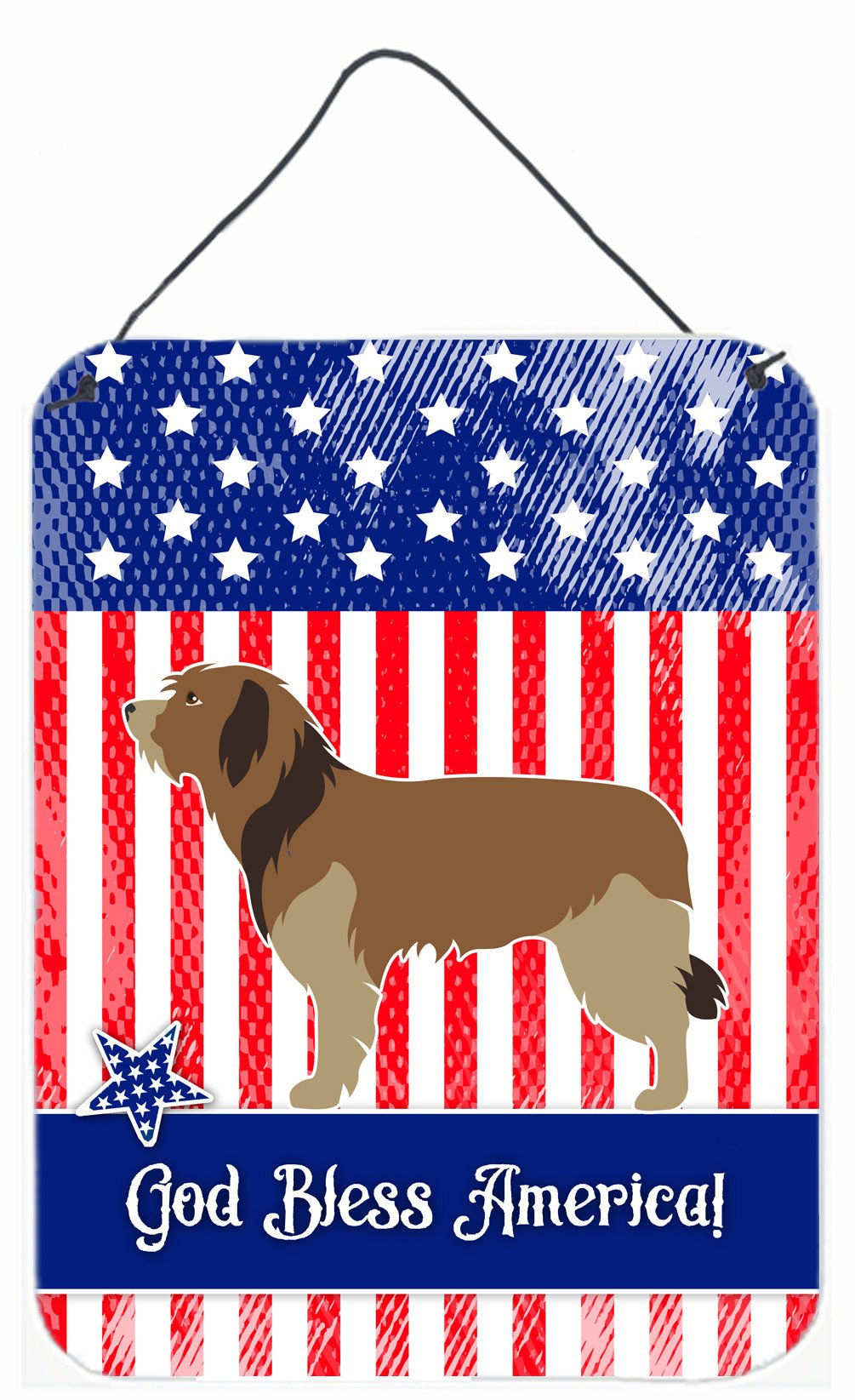 Buy this Catalan Sheepdog American Wall or Door Hanging Prints BB8376DS1216