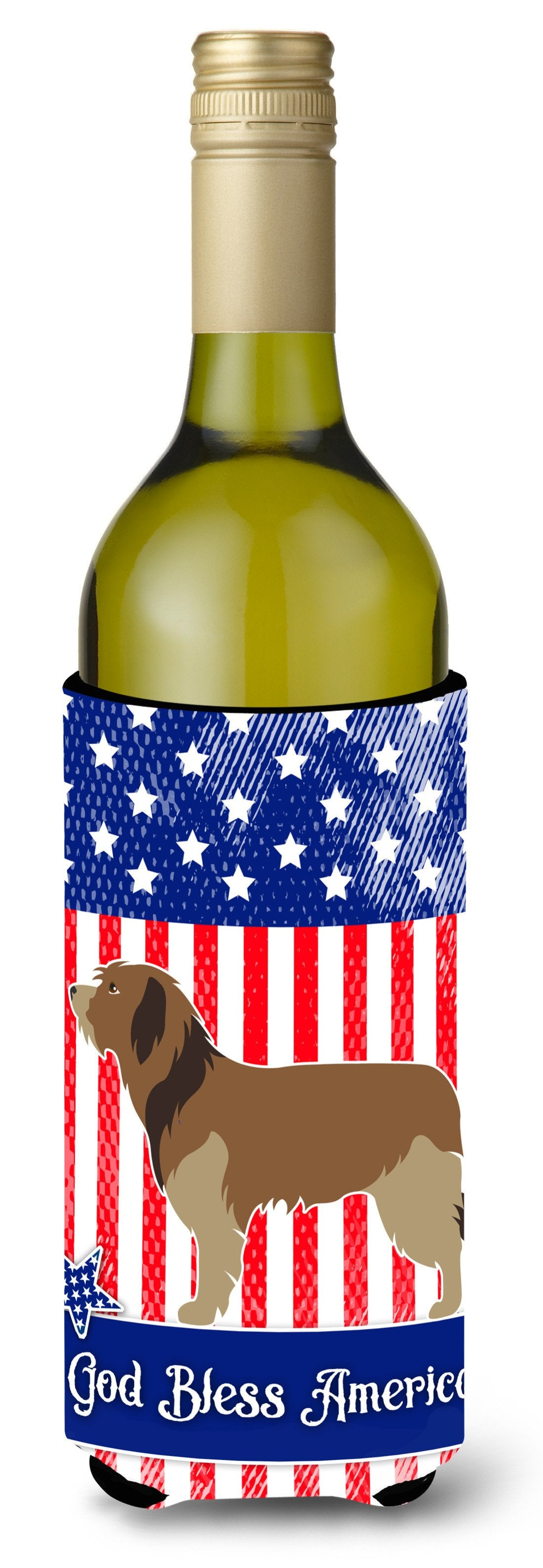 Buy this Catalan Sheepdog American Wine Bottle Beverge Insulator Hugger BB8376LITERK