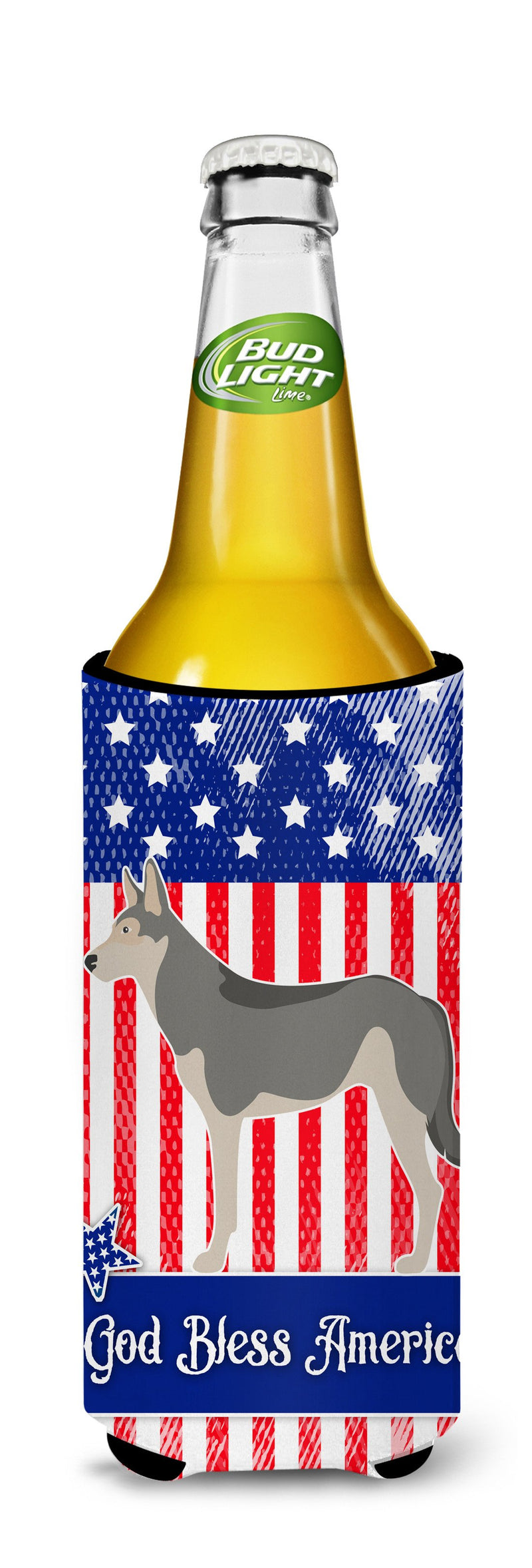 Buy this Saarloos Wolfdog American Michelob Ultra Hugger for slim cans BB8377MUK