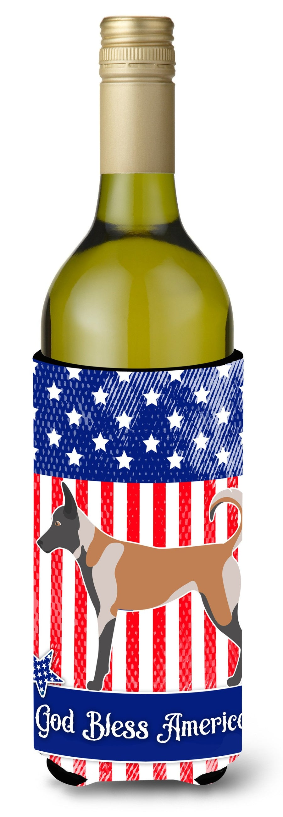 Buy this Malinois American Wine Bottle Beverge Insulator Hugger BB8380LITERK