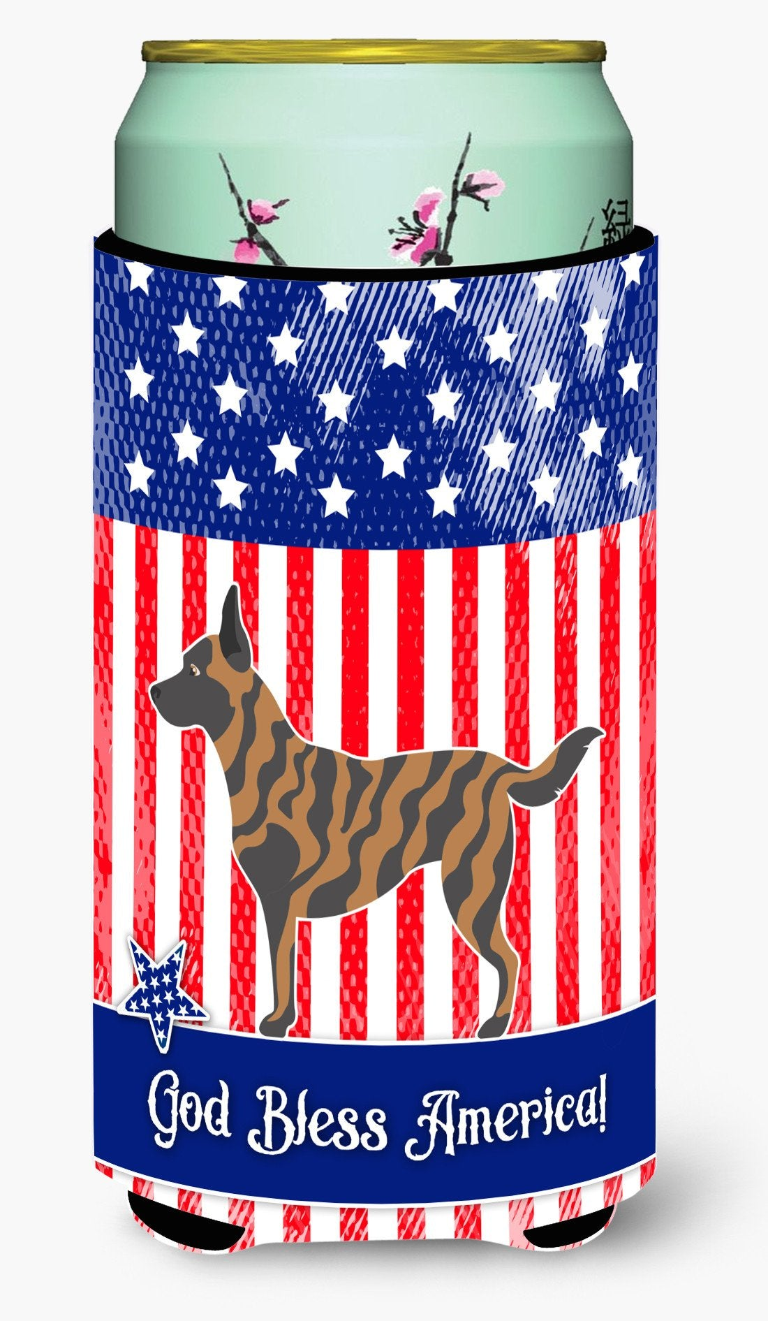 Dutch Shepherd American Tall Boy Beverage Insulator Hugger BB8381TBC by Caroline's Treasures