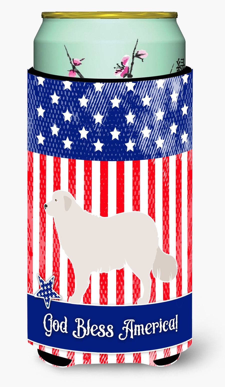 Buy this Kuvasz American Tall Boy Beverage Insulator Hugger BB8386TBC