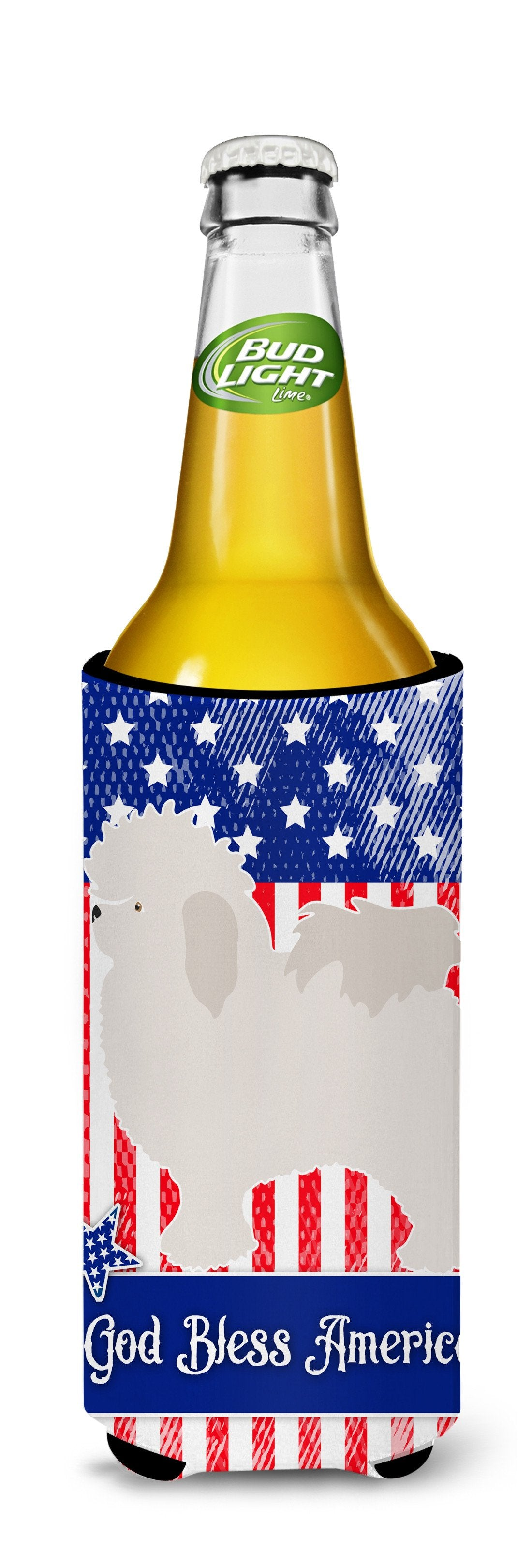 Bolognese American Michelob Ultra Hugger for slim cans BB8390MUK by Caroline's Treasures