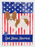 Buy this Papillon American Flag Garden Size BB8391GF
