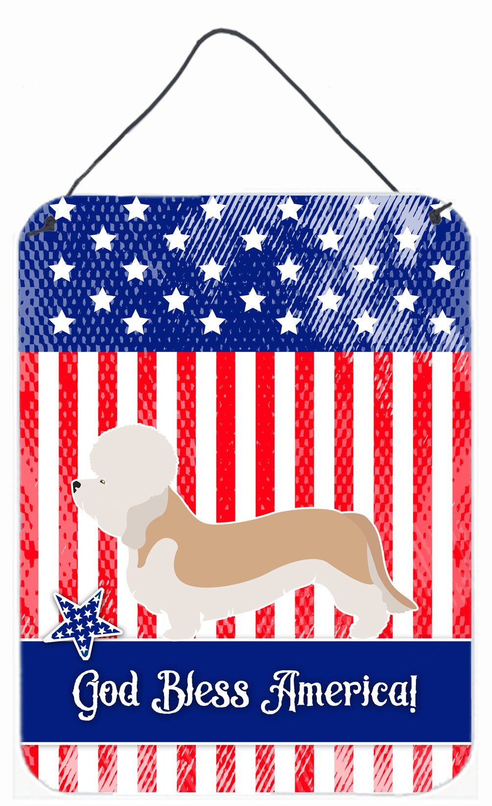 Buy this Dandie Dinmont Terrier American Wall or Door Hanging Prints BB8393DS1216