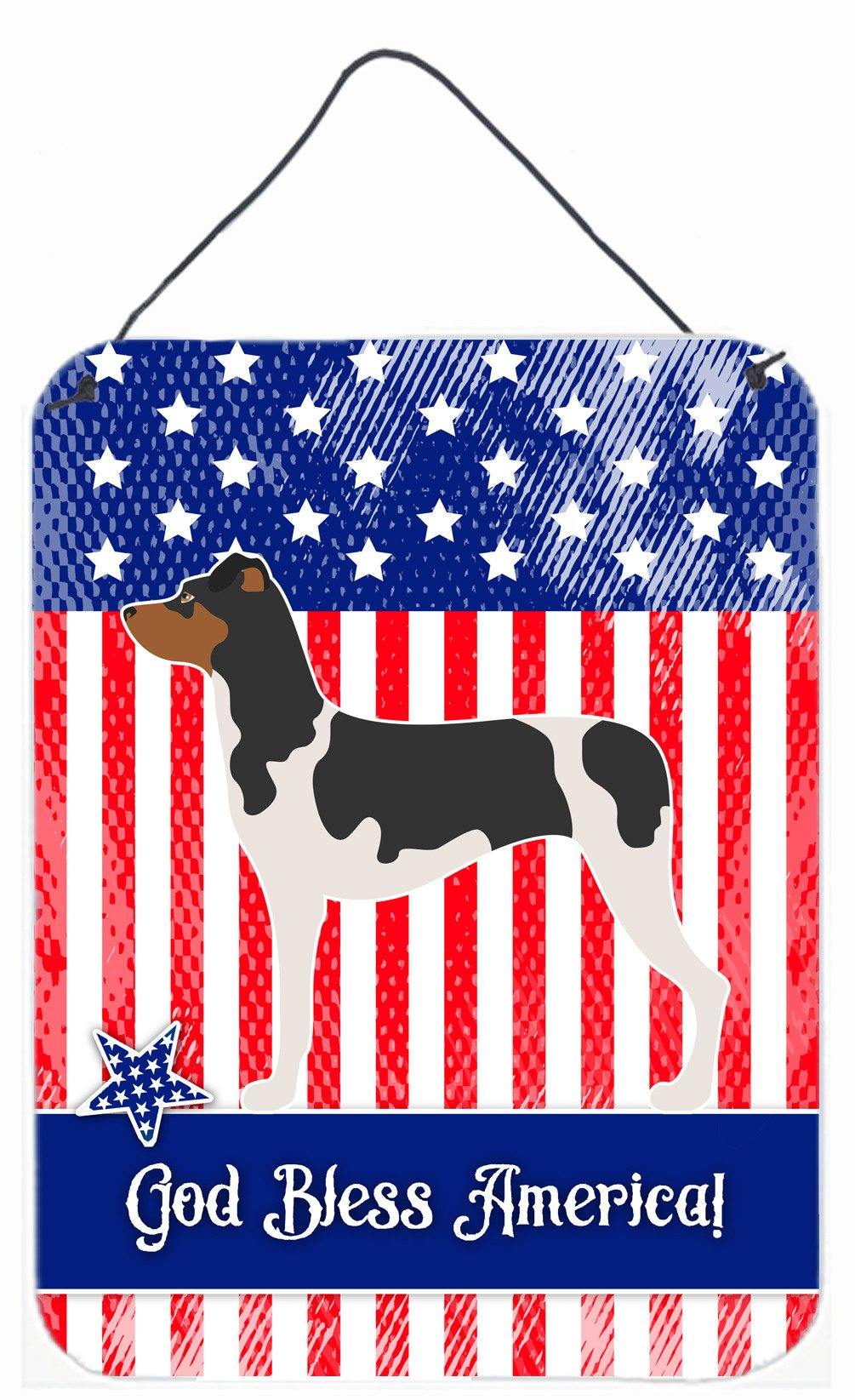 Brazilian Terrier American Wall or Door Hanging Prints BB8396DS1216 by Caroline's Treasures