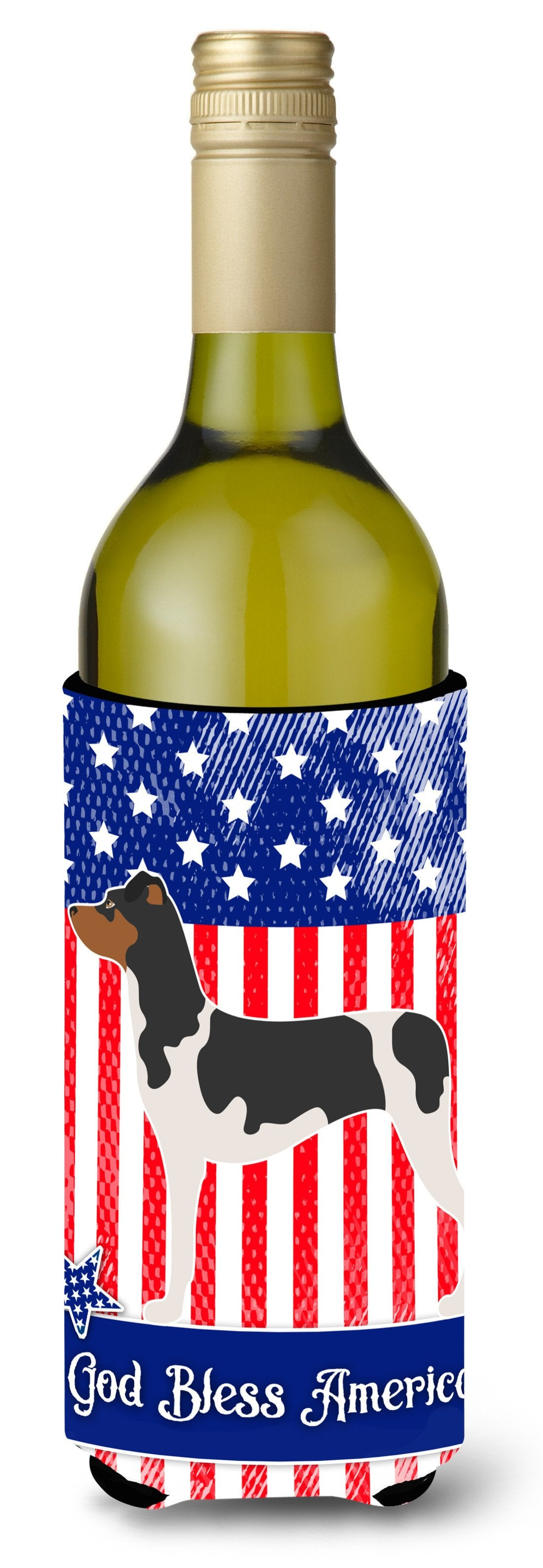 Brazilian Terrier American Wine Bottle Beverge Insulator Hugger BB8396LITERK by Caroline's Treasures