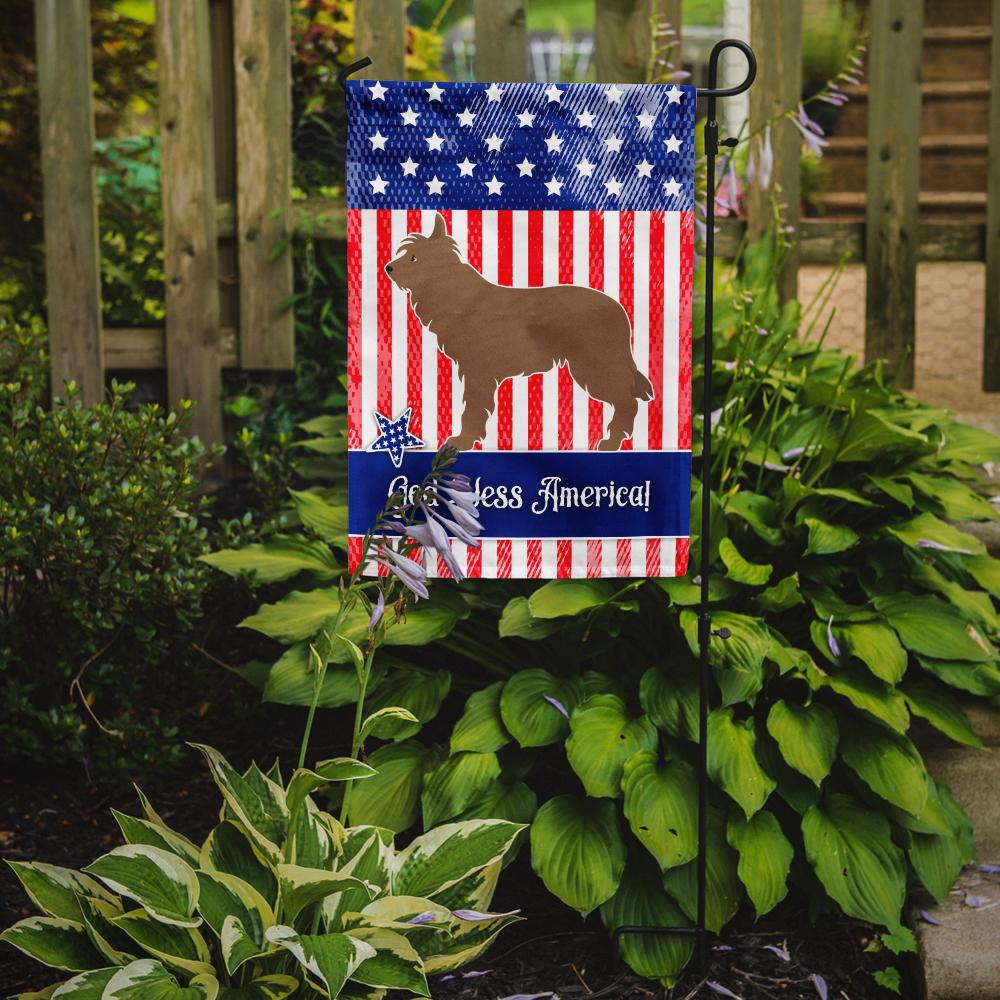 Berger Picard American Flag Garden Size BB8402GF by Caroline's Treasures