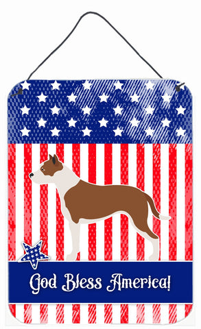 Buy this Pit Bull Terrier American Wall or Door Hanging Prints BB8406DS1216