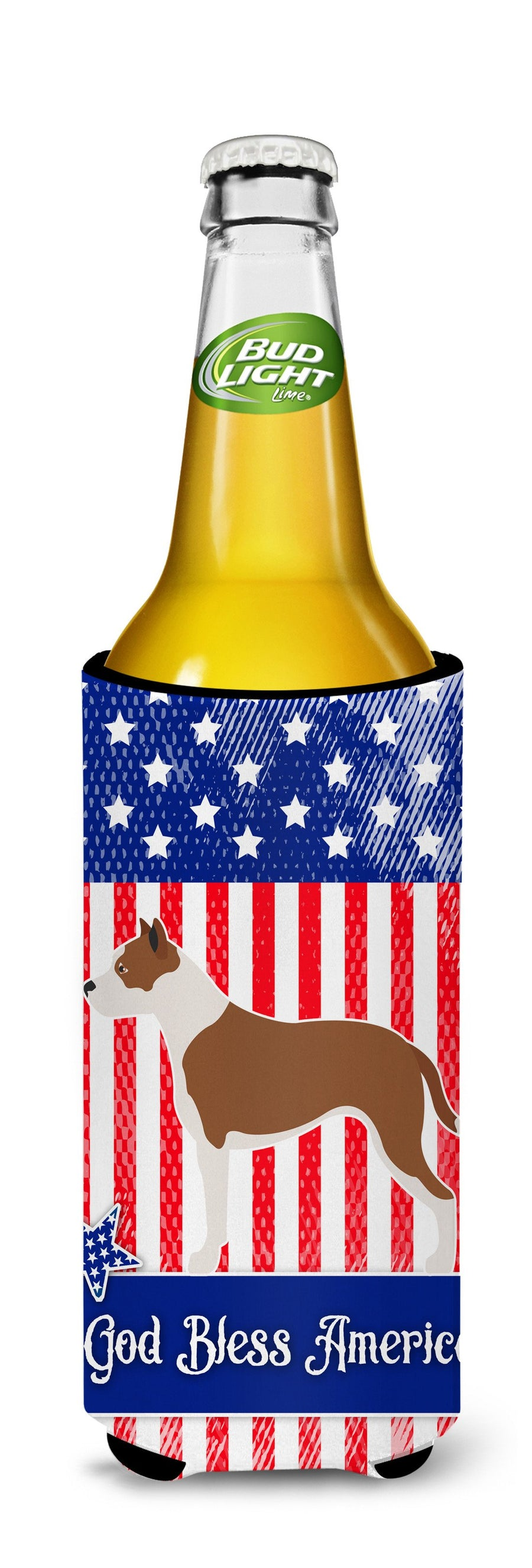 Buy this Pit Bull Terrier American Michelob Ultra Hugger for slim cans BB8406MUK