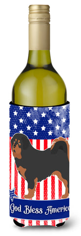 Buy this Tibetan Mastiff American Wine Bottle Beverge Insulator Hugger BB8407LITERK