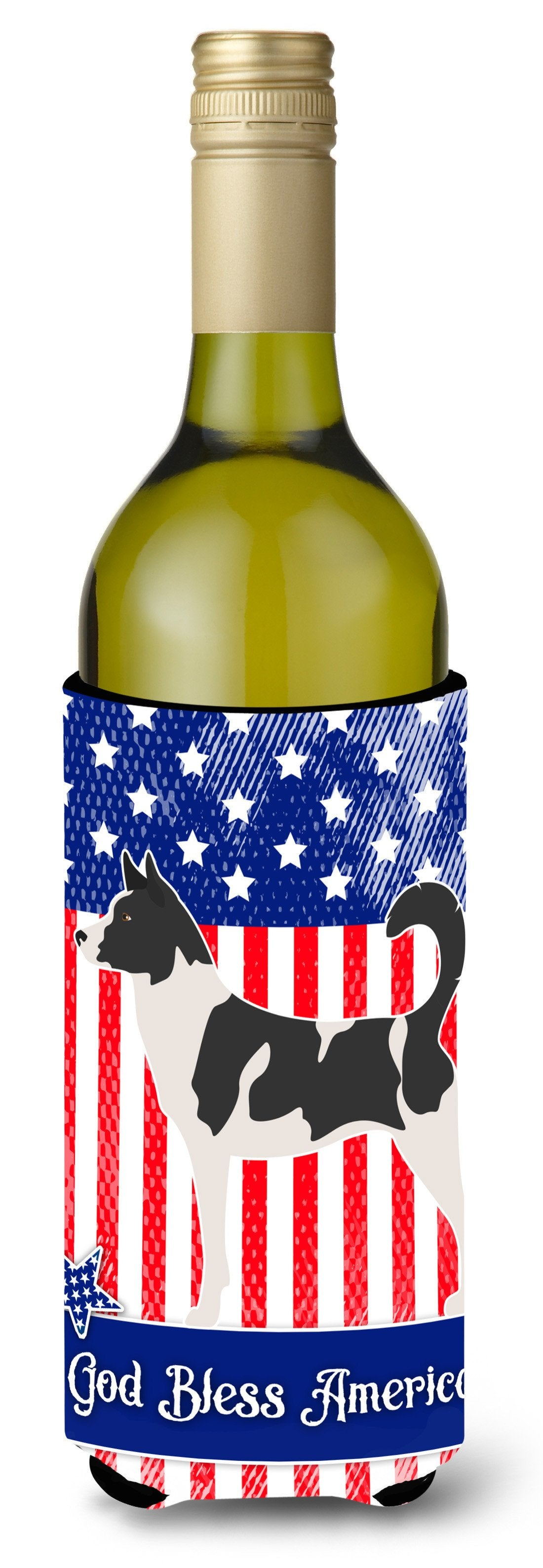 Buy this Canaan Dog American Wine Bottle Beverge Insulator Hugger BB8410LITERK