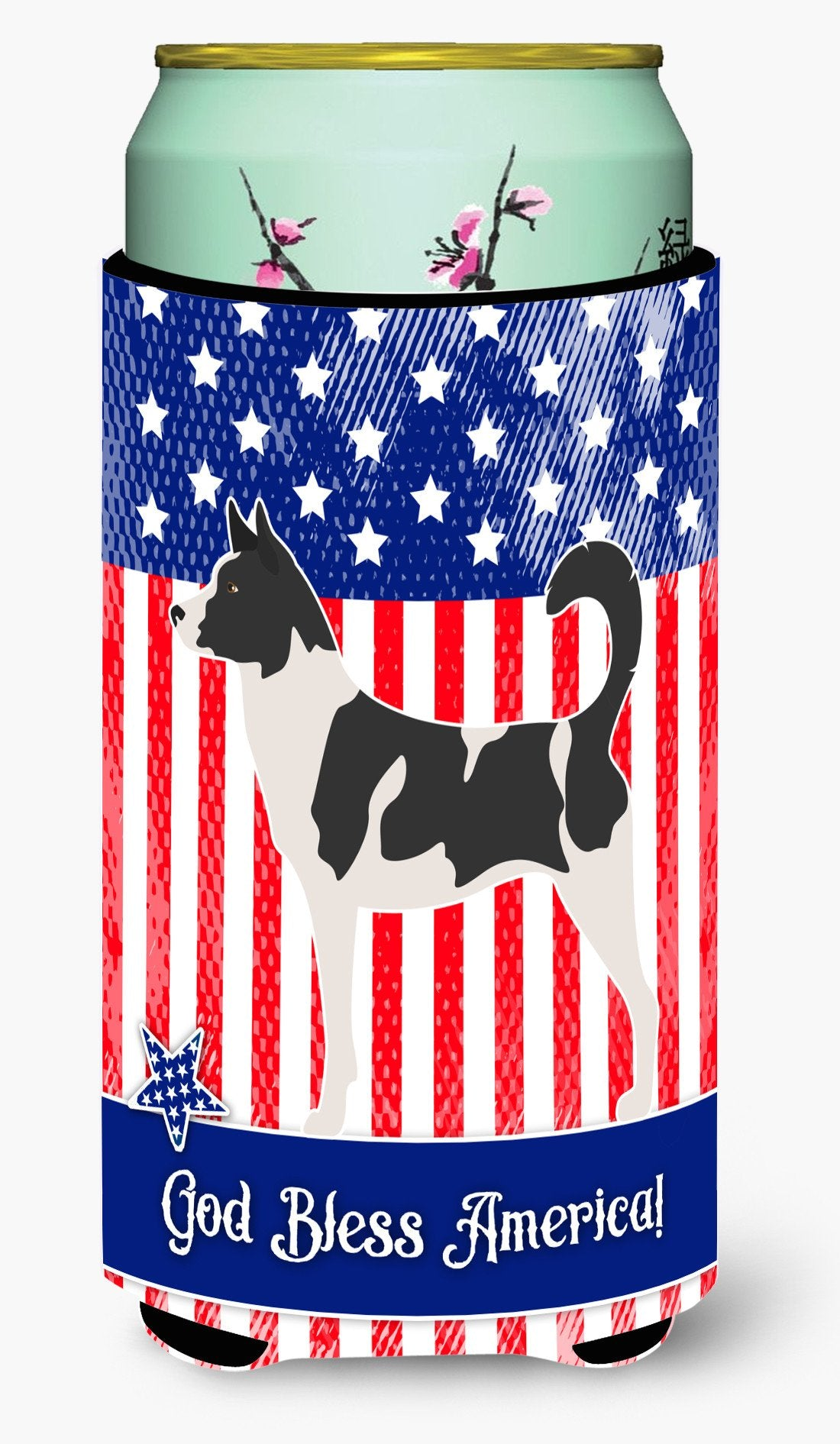 Buy this Canaan Dog American Tall Boy Beverage Insulator Hugger BB8410TBC