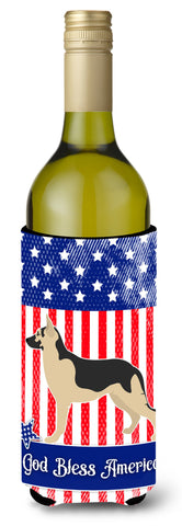 Buy this German Shepherd American Wine Bottle Beverge Insulator Hugger BB8411LITERK